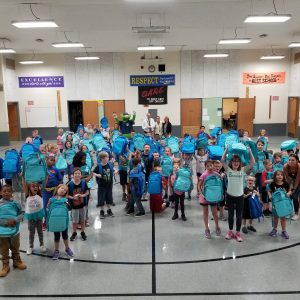Royalview Elementary Backpack Donation