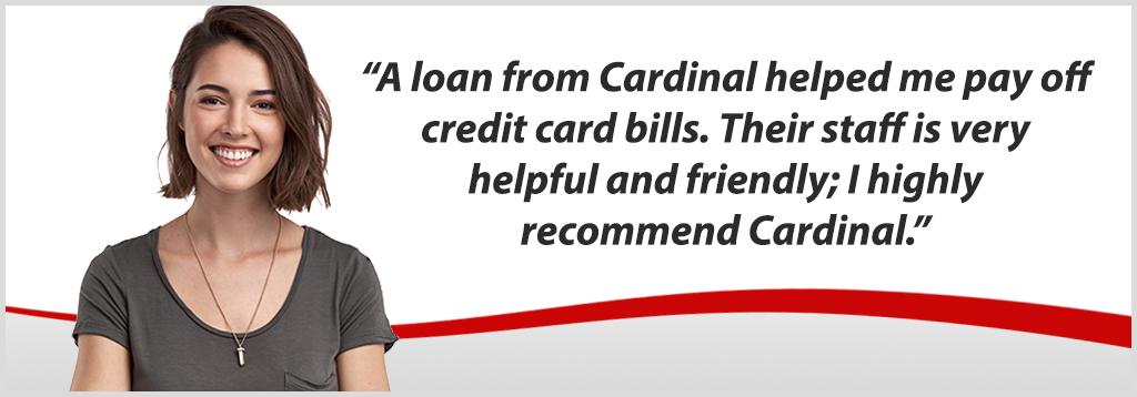 Personal loans banner advertisement